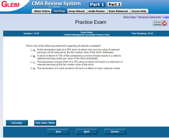 gleim test prep software free download